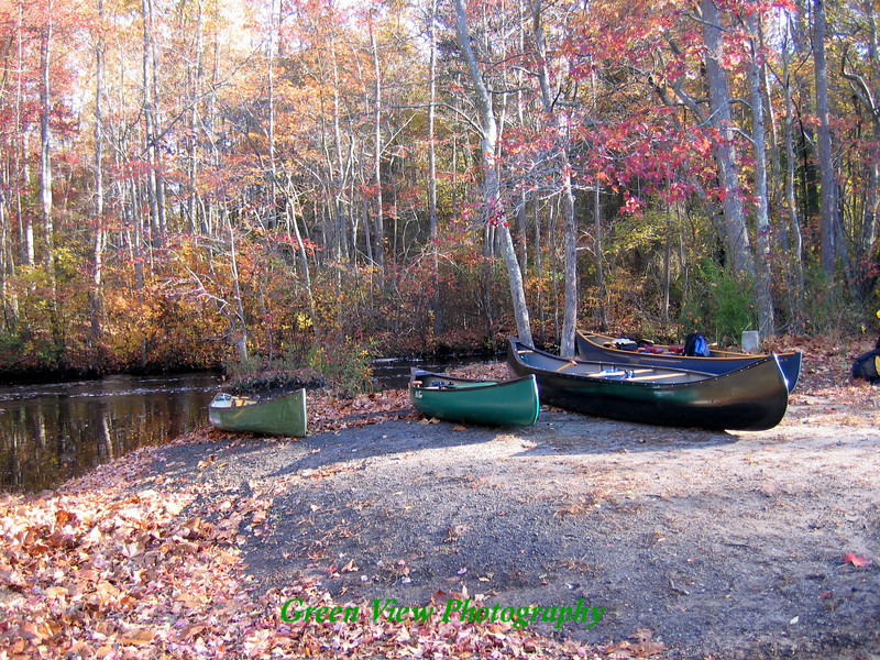 Canoes on Shore
