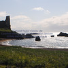 Dunure Harbour castle and cliffs NR Ayr - 09
