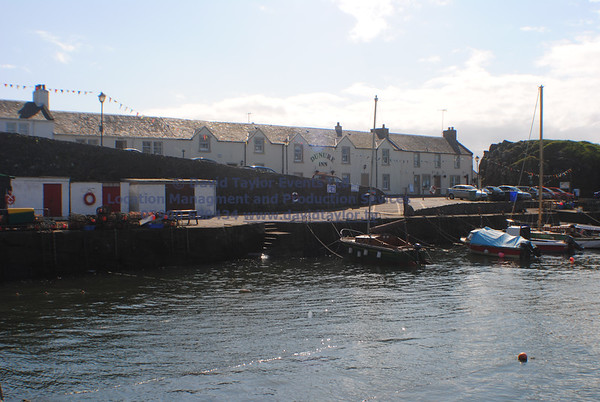 Dunure Harbour castle and cliffs NR Ayr - 16