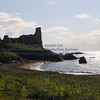 Dunure Harbour castle and cliffs NR Ayr - 10