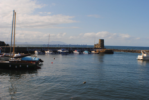 Dunure Harbour castle and cliffs NR Ayr - 15