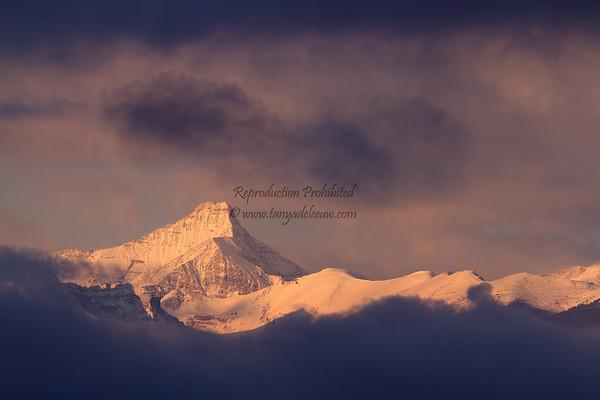 Mt Nelson sunrise, November 2011.