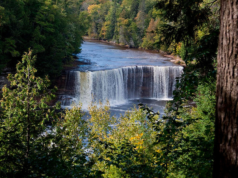 IMG_8425 Tahquamenon Falls in the UP of Michigan.