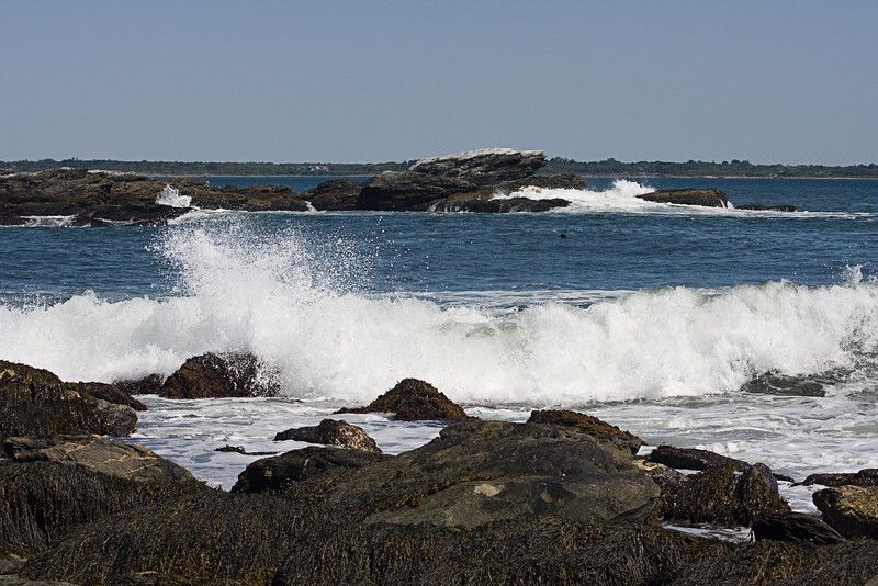 <center>Crashing Waves <br><br>Sachuest Point National Wildlife Refuge<br>Middletown, RI</center>