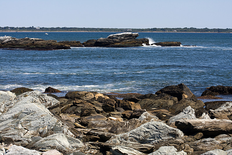 <center>Rocky Coast <br><br>Sachuest Point National Wildlife Refuge<br>Middletown, RI</center>