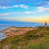 Lighthouse at Aquinnah Cliffs, Martha's Vineyard