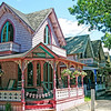 Gingerbread Houses in Oak Bluffs, Martha's Vineyard