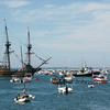 Mayflower at Plymouth Harbor
