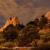 GOG-SN-01 | The Garden of the Gods under a full moon | Aug 2012 | Colorado Springs | CO