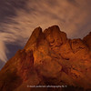 GOG-SN-02 | The Garden of the Gods under a full moon | Aug 2012 | Colorado Springs | CO