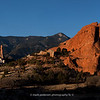 """Morning at the Garden of the Gods 