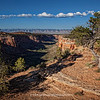 Colorado National Monument | Fall 2011 | Faint shadows can be seen in the sky below the line of clouds, see the 3XLarge view!
