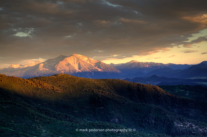 Mt. Sopris | From Glenwood Springs Colorado