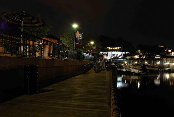 Nightime Pier