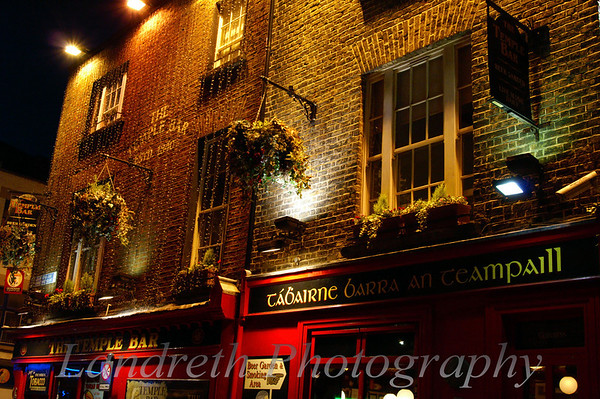 """Temple Bar<br /> Dublin, Ireland<br /> <br /> Thanks to Schmap.com for choosing this photo to be included in their Dublin Guide.  <a href=""""http://www.schmap.com/dublin/activities_templebararea/p=330743/i=330743_34.jpg"""">http://www.schmap.com/dublin/activities_templebararea/p=330743/i=330743_34.jpg</a>"""