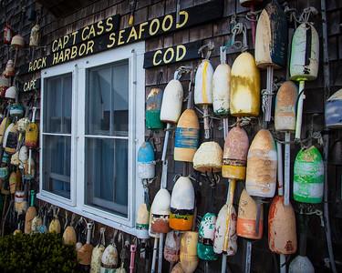 Seafood Shack.  Rock Harbor, Cape Cod, MA.