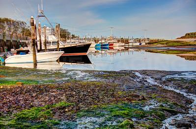Rock Harbor at low tide 2.  Cape Cod, MA.