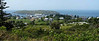 A Panoramic of Monhegan, taken from the Lighthouse.  Monhegan Island, Maine.