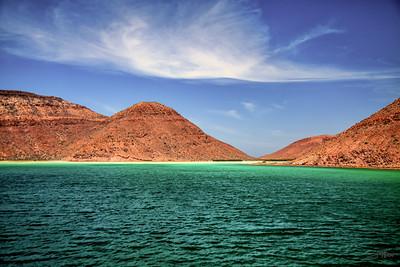 El Cardonal Bay, Isla Partida