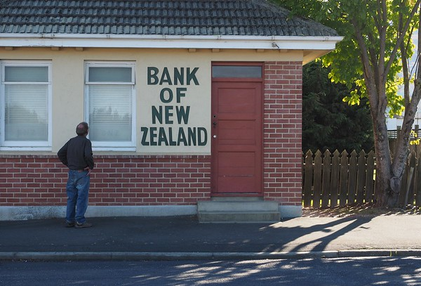 The (now closed) Bank of New Zealand, Middlemarch