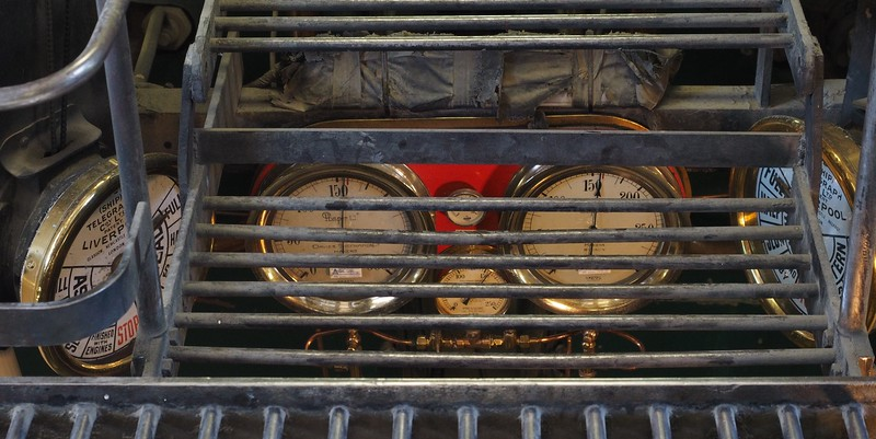 Engine dials on TSS Earnslaw