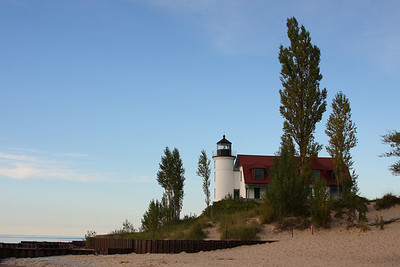 Point Betsie Lighthouse Benzie County Michigan