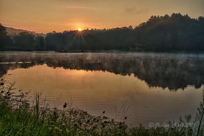 Sunrise at Kendall LakeCuyahoga Valley National Park, Ohio
