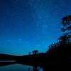 Mountain Lake and Stars