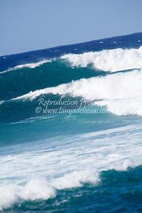 Layers of Turquoise. Ho'okipa, Maui, Hawaii. May 2012