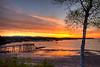 HDR Image of Southwest Harbor at Low Tide.  Southwest Harbor, Maine.