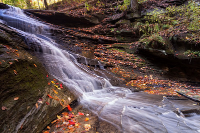 Unnamed waterfall in South Chagrin South Chagrin Reservation, Ohio