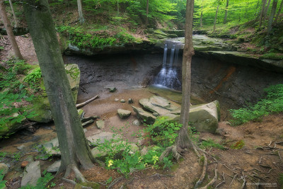 Blue Hen Falls Cuyahoga Valley National Park, Ohio