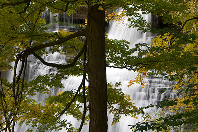 Brandywine Falls during autumn 2009