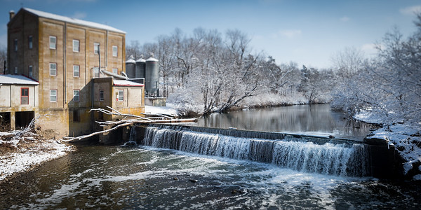 Weisenberger Mill near Midway, Ky. 1.24.15.