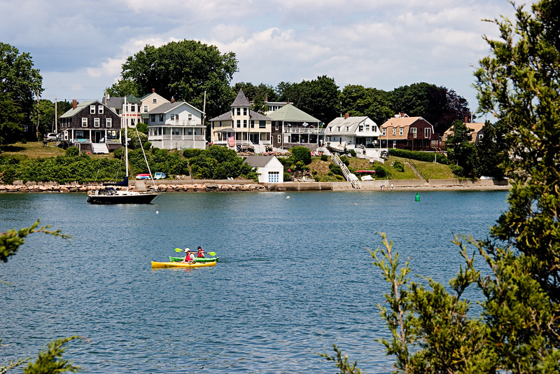 <center>Kayakers    <br><br>World's End - Hingham, MA</center>