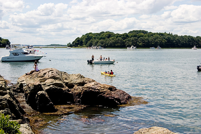 <center>Boaters    <br><br>World's End - Hingham, MA</center>
