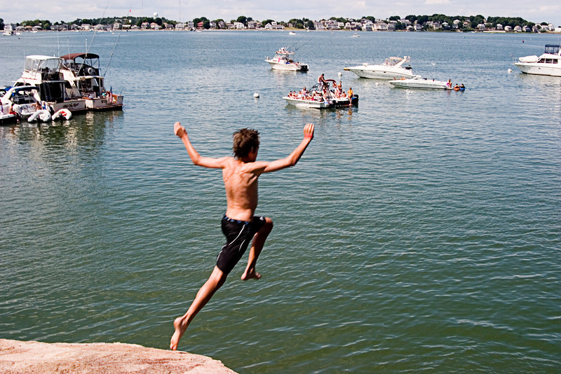 <center>Pushing Off    <br><br>World's End - Hingham, MA</center>