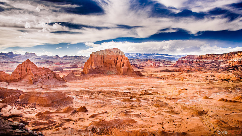 An epic scene from Capitol Reef National Park
