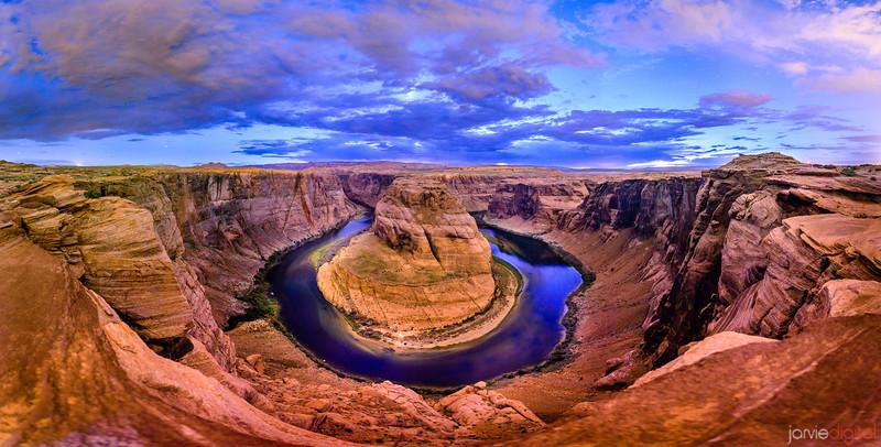 HorseShoe Bend - 28 image originally 333mp image
