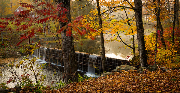 Green River Timber Crib Dam,  Vermont