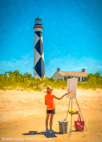Cape Lookout Artist. 2019