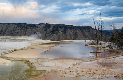 Mammoth Hot Springs Pond