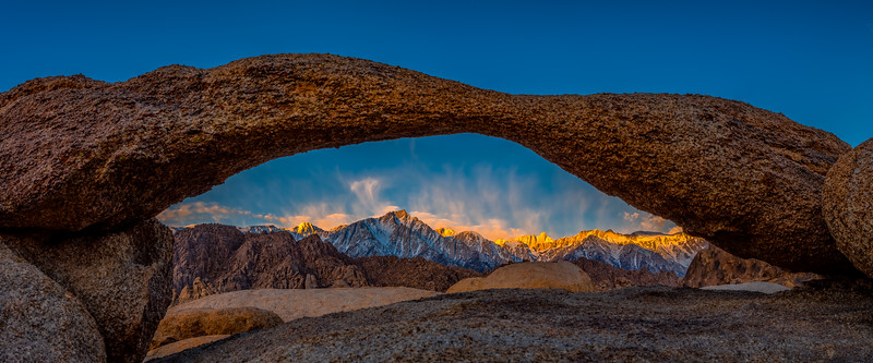 Mt. Whitney Sunrise and Lathe Arch