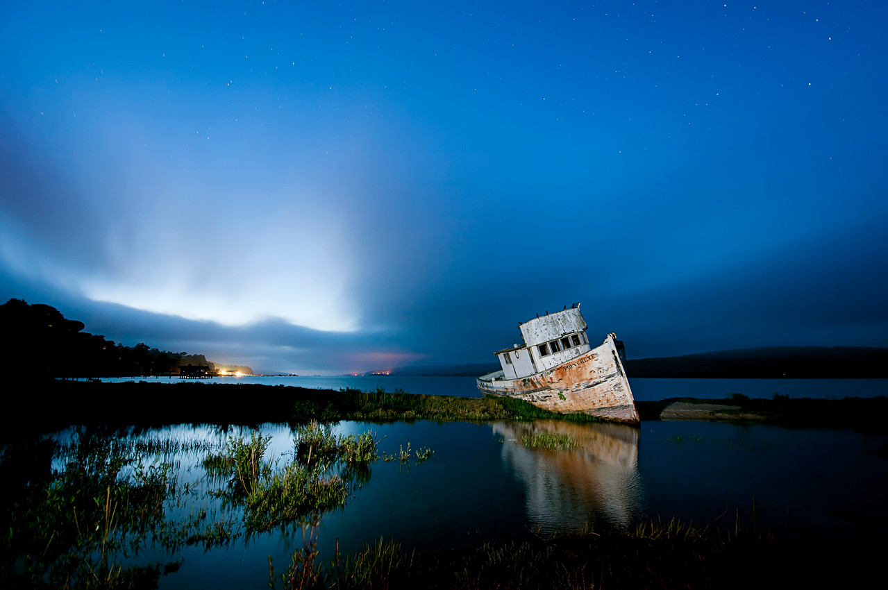 Point Reyes Boat, Inverness, California