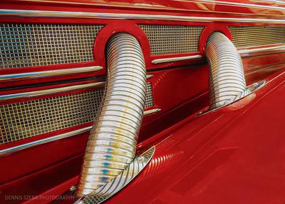 antique car exhaust