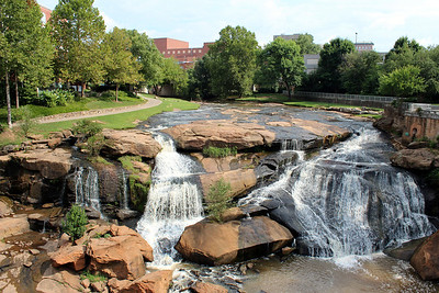 Falls of Reedy River, Greenville, SC