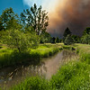 Wildfire in Fort Collins, CO