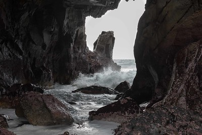 Big Sur - Tidal Pool Cave - Pfeiffer Beach California