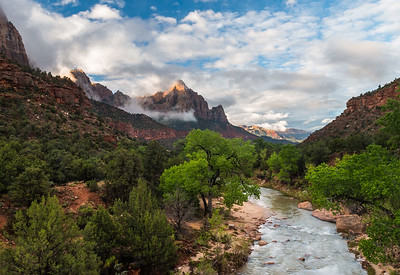 Virgin River Zion National Park Utah