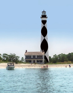 Cape Lookout Lighthouse, NC 2012